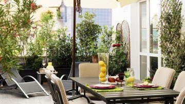 Aranżacje tarasów i balkonów